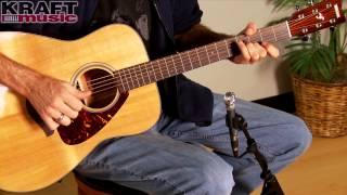 kraft music yamaha fg700s acoustic guitar demo with jake blake