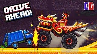 - Drive Ahead БИТВА С МЕГА ДРАКОНОМ Рейд на БОССА Новый режим Мультяшная игра Драйв Ахед от CoolGAMES