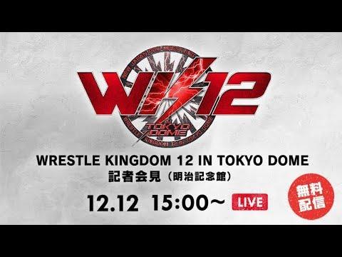 【Live】WRESTLE KINGDOM 12 IN TOKYO DOME: Press Conference