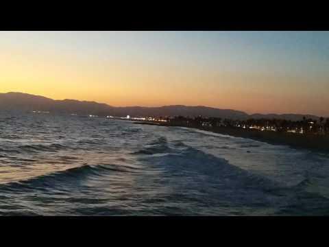 Santa Monica bay, August 2017