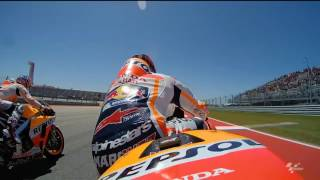 2017 #AmericasGP - Honda in action