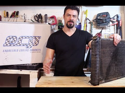 How to Remove and Replace a Radiator - Corvette C4