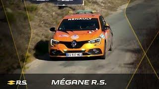 Carlos Sainz drives New Mégane R.S. up the Col du Turini - Rallye Monte-Carlo