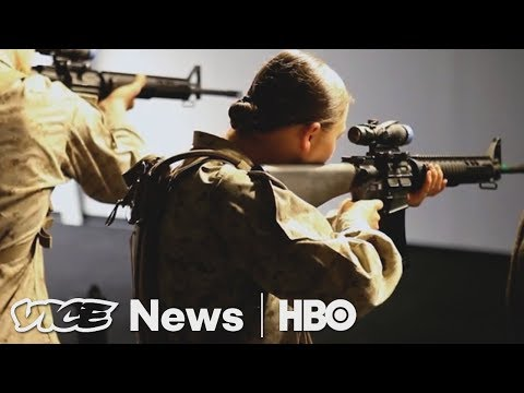 The Marine Corps Is Having Problems Recruiting More Women (HBO)
