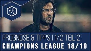 Champions & Europa League Prognose, Tipps & Gewinnspiel: Halbfinale Teil 2 (2019)