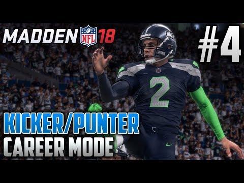 Madden 18 Career Mode | Kicker & Punter Career | EP4 | FLYING HIGH IN SEATTLE