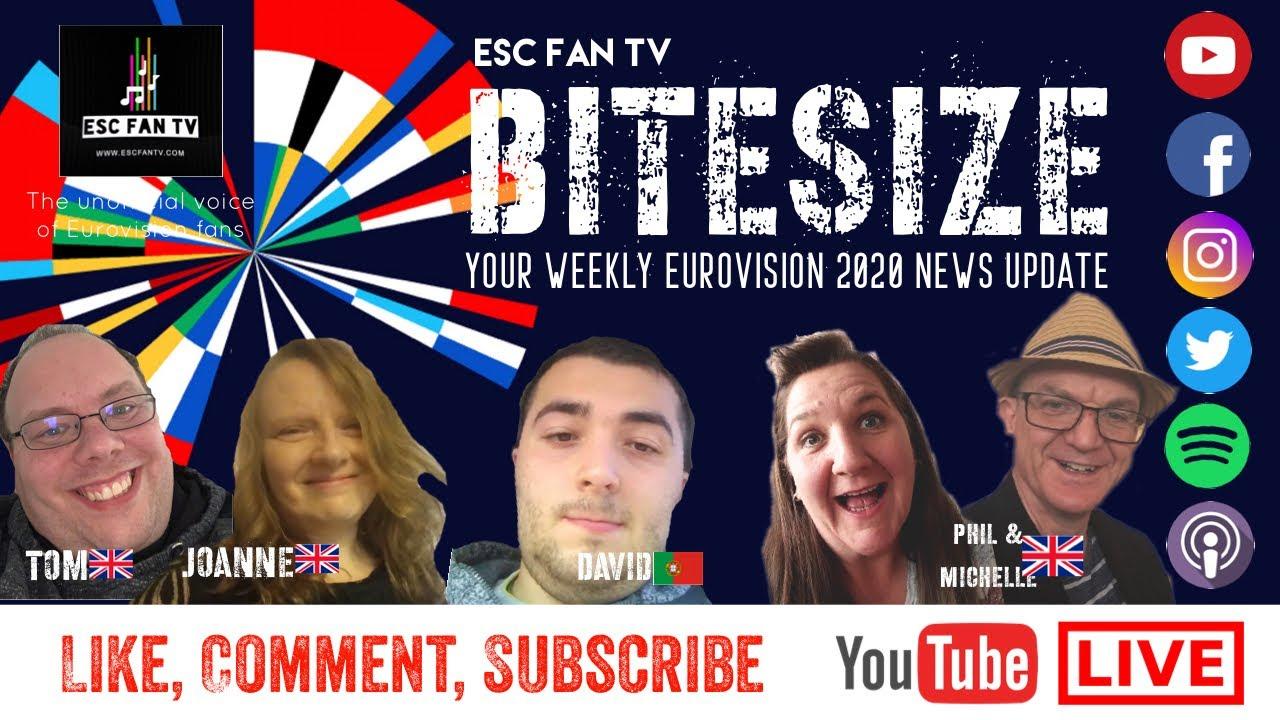 Download BITESIZE 24.02.20   Festival Da Canção SF1, EMA Slovenia, Vidbir reactions & news round-up