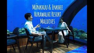 Malidives Hurawalhi Resort Munkhuu & Enkhee - Mongolia