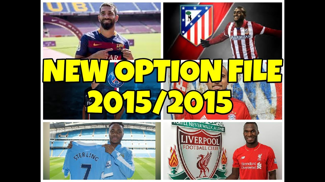 PES 2013 - Option File 2015/2016