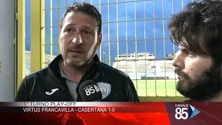 12 Maggio 2019   Sala Stampa 1° Turno Play Off Serie C Girone C   Virtus Francavilla   Casertana 1 0