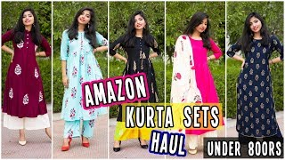 Amazon Kurti Set Haul Under 800 RS