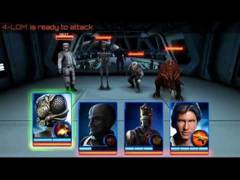 Star Wars Assault Team: Arena Battle Gameplay