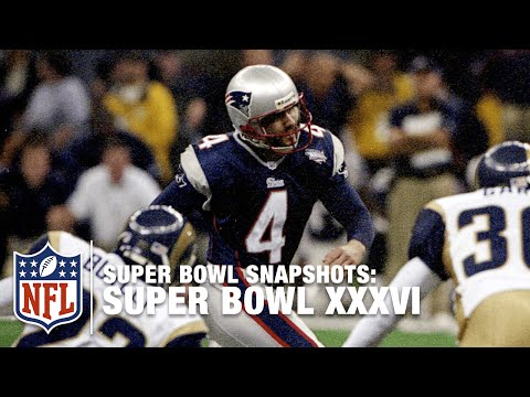 Super Bowl Snapshots: Adam Vinatieri Touching Down   NFL
