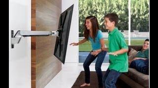 soportes para pantallas monitores tv lcd brazo articulado pared led