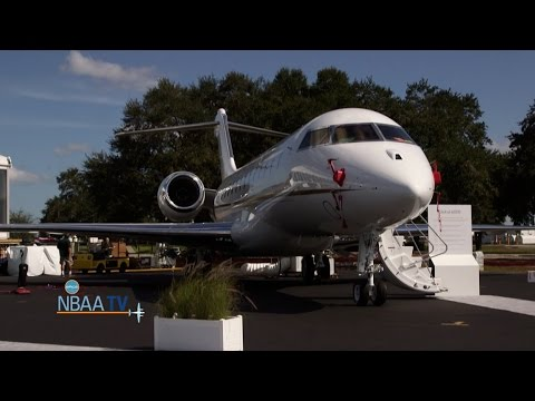 Setting up the World's Finest Business Aircraft on Display at NBAA-BACE