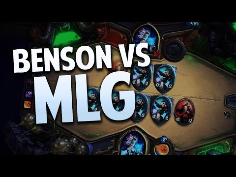DRINK A LITER OF HOT SAUCE : Benson vs MLG : Hearthstone Challenge