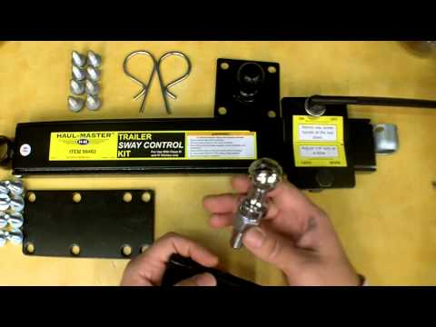 Harbor Freight Trailer Sway Control Kit Review Item 96462