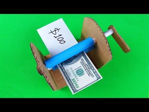 How to make MONEY PRINTER Machine - DIY Magic Trick