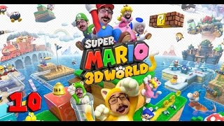 THE END - MARIO 3D WORLD #10