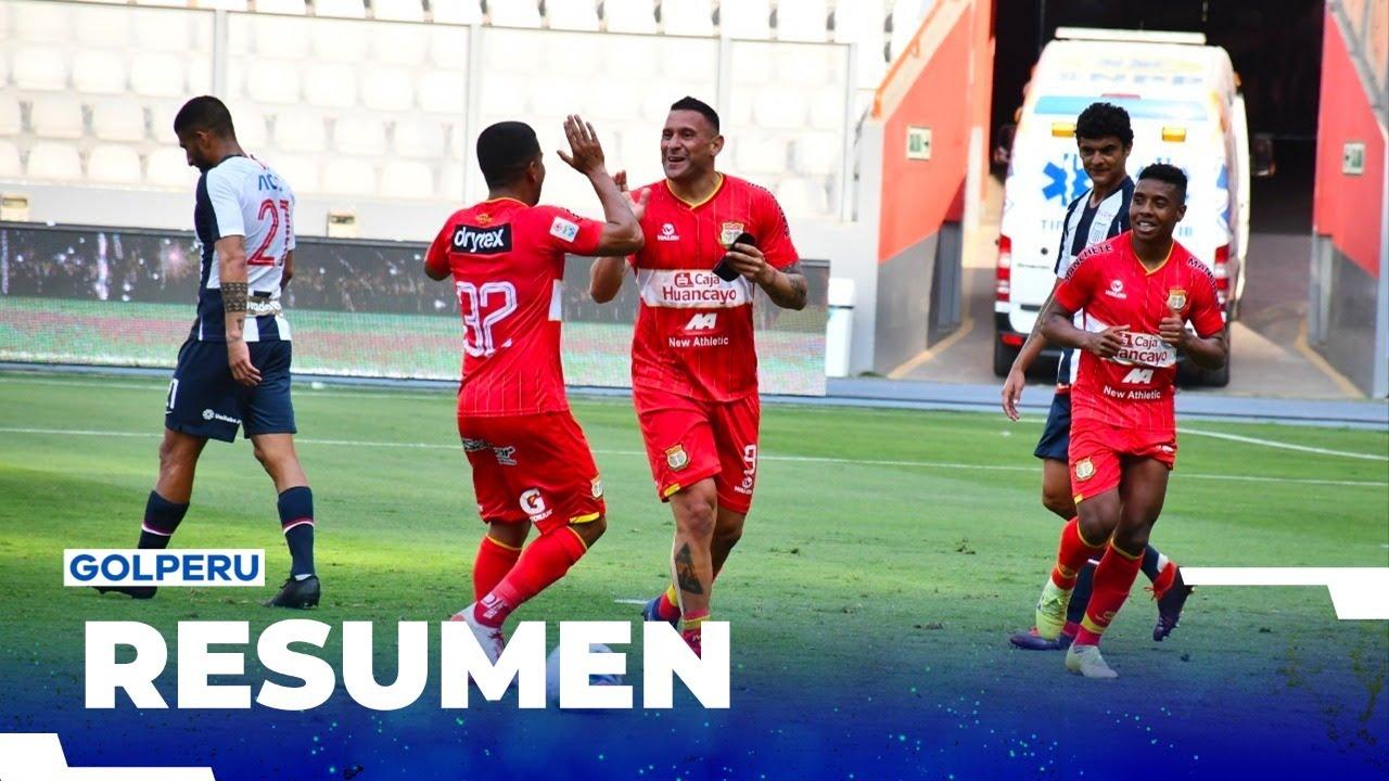 Resumen: Sport Huancayo vs Alianza Lima (2-0) #LIGA1MOVISTARXGOLPERU #AlientaDesdeCasa
