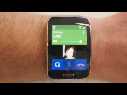 Samsung Gear S Phone Call Quality And Built In Apps