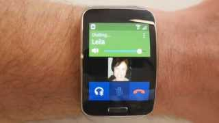 Samsung Gear S phone call quality and built in apps(A quick look at the call quality of the Samsung Gear S smartwatch, both when paired with Bluetooth and as a standalone device, and a run through the ..., 2014-11-08T18:43:52.000Z)