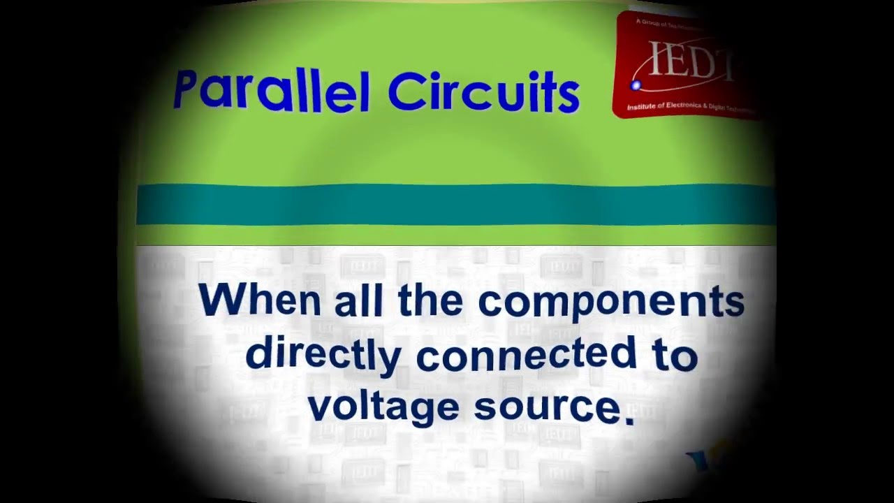 Resistance Parallel Circuit Explained Youtube In A