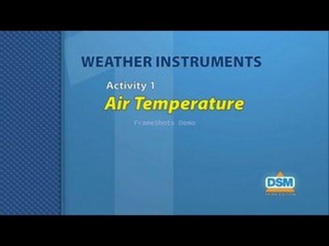 Weather Instruments - Activity 1: Air Temperature