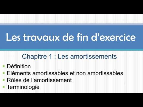 Les Amortissements ( Partie 1 ) بالدارجة المغربية