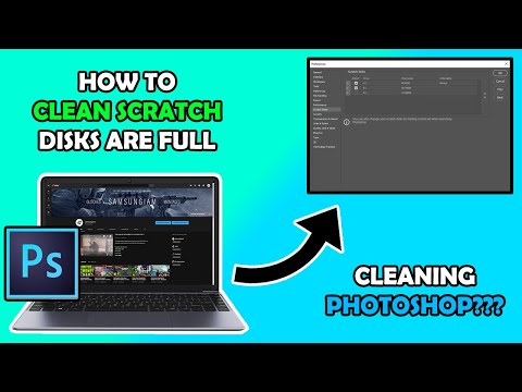 How To Fix/Clean Scratch Disks Are Full On Photoshop (Tutorial) thumbnail