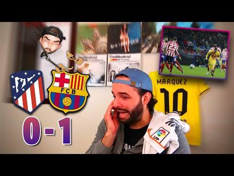 Reacciones De Madridista | ATLETICO MADRID 0-1 BARCELONA | La Liga Fecha 15