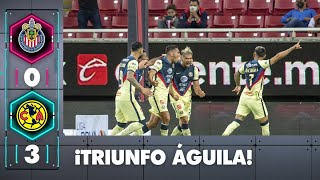 Chivas 0-3 América | Resumen | Jornada 11 | Liga BBVA MX