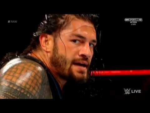 Roman reigns vs samoa Joe WWE RAW