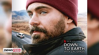 Zac Efron Accused Of STEALING Netflix Show 'Down To Earth'!