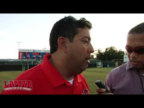 Lamar Women's Soccer: SLC Championship Post- Orlando Cervantes