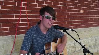 "Gabe Schimdt of Vinton, Iowa, performs ""Two Steps Behind"""