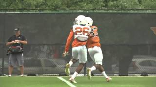 Longhorn Blitz: WR vs DB [April 8, 2015]