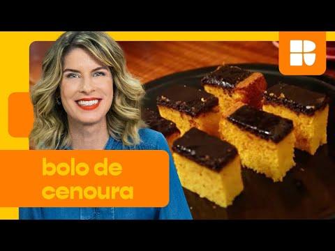 Bolo de cenoura  Rita Lobo  Cozinha Prática