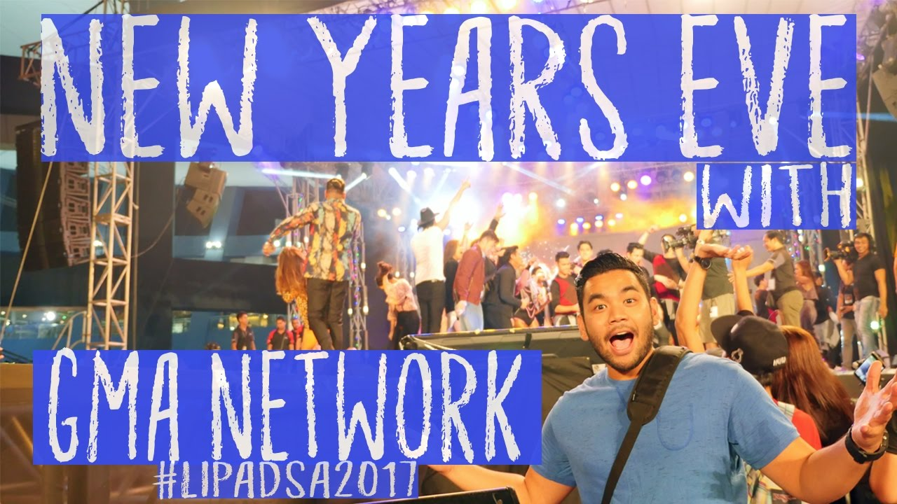 GMA Network New Year Countdown 2017|Let's CELEBRATE! Philippine Style In 4K - YouTube
