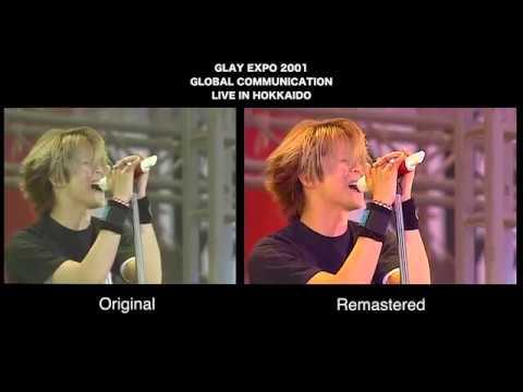 GLAY SPECIAL 7 LIVES LIMITE BOX THE GLAY HERITAGE DVD→Blu-ray比較映像