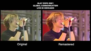 GLAY SPECIAL 7 LIVES LIMITE BOX THE GLAY HERITAGE DVD→Blu-ray比較映像
