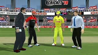 25th April IPL 11 Chennai Super Kings Vs Royal Challengers Bangalore Real cricket 2018 Gameplay