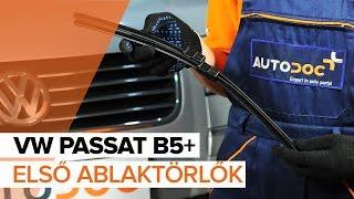 Hogyan cseréljünk Ablaktörlő VW PASSAT Variant (3B5) - online ingyenes videó