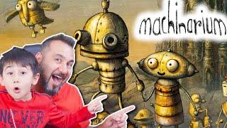 GİZEMLİ ROBOT ve GİZEMLİ ROBOT GEZEGENİ! | MACHINARIUM OYNUYORUZ #1