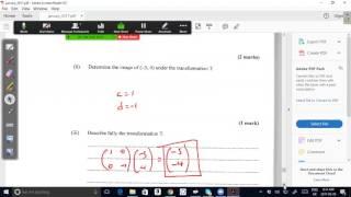 cxc csec maths january 2017 past paper question 11 a exam solutions