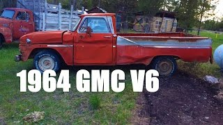 First Start in 15 Years! 1964 GMC Custom cab Pickup 305 V6 Part 1