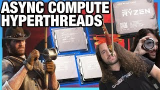 Red Dead Redemption 2 Stuttering, Hyperthreading, & Async Compute on PC