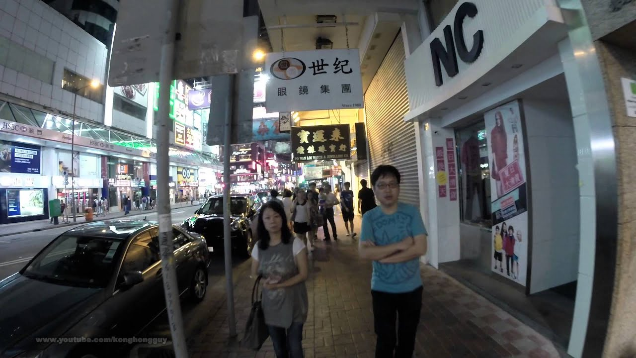 Wanchai night walk @ Lockhart Road