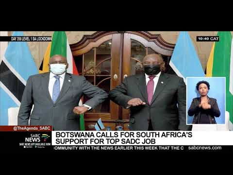 Botswana calls for South Africa's support for top SADC job