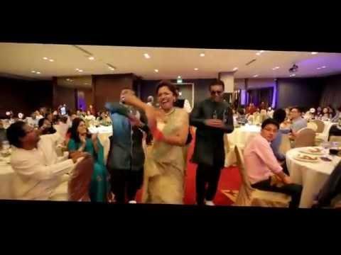 Best Wedding Entrance in Singapore ¦ Gopi & Shalini Wedding Reception